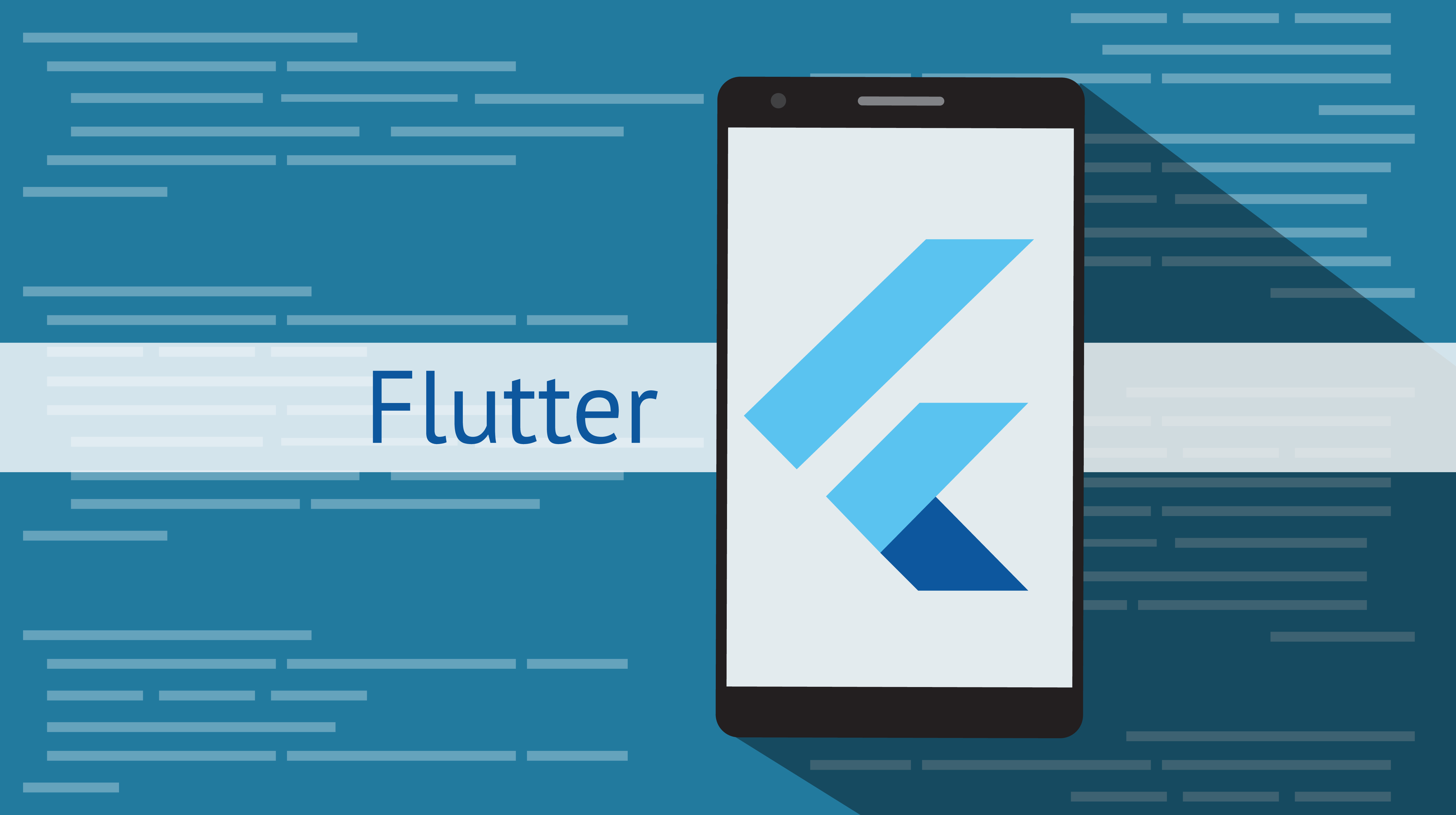 Google´s UI kit Flutter helps creating apps for mobile and desktop